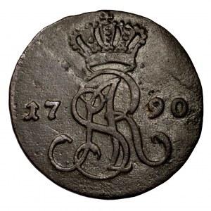 Stanisław Poniatowski, grosz 1790 EB