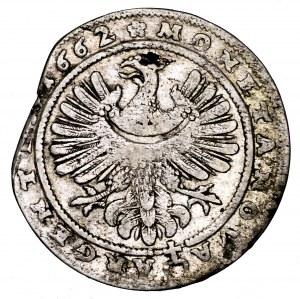 Śląsk, Ks. Legnicko-Brzesko-Wołowskie, Jerzy III Brzeski, 15 krajcarów 1662, Brzeg