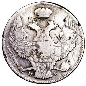 Zabór Rosyjski, 30 kopiejek/2 złote 1838 MW