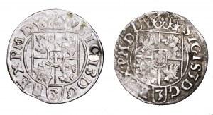 Zygmunt III Waza, zestaw 2 półtoraków