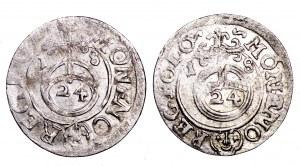 Zygmunt III Waza, zestaw 2 półtoraków 1618