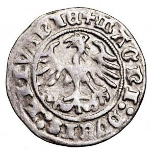 Zygmunt I Stary, półgrosz 1512, Wilno - kropka na Pogoni