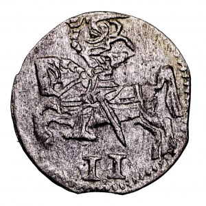 Księstwo Kurlandii, Gotthard Kettler, dwudenar 1578, Mitawa - rzadszy