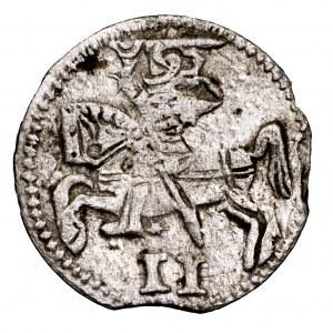 Księstwo Kurlandii, Gotthard Kettler, dwudenar 1579, Mitawa - rzadszy