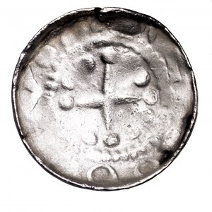 Polska, denar krzyżowy, X/XI w.
