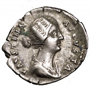 Cesarstwo Rzymskie, Faustyna II Młodsza, denar 161-164
