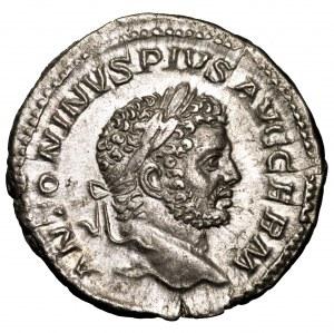 Cesarstwo Rzymskie, Karakalla, denar 213-217
