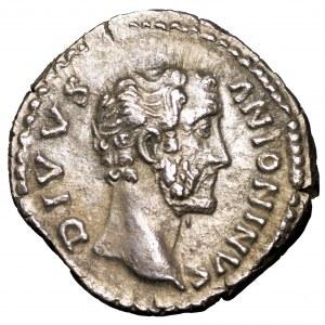 Cesarstwo Rzymskie, Antoninus Pius, denar pośmiertny 138-161