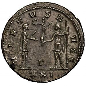 Cesarstwo Rzymskie, Carinus, antoninian bilonowy 282-283