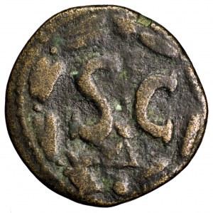 Cesarstwo Rzymskie, Makrynus, brąz 217-218, Antiochia