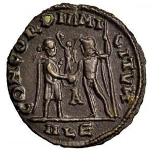 Cesarstwo Rzymskie, Konstancjusz I Chlorus, follis 293-305, Aleksandria
