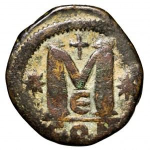 Bizancjum, Anastazjusz, follis 512-517, Konstantynopol