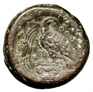 Grecja, Sycylia, Akragas, hemilitron 400-380 p.n.e.