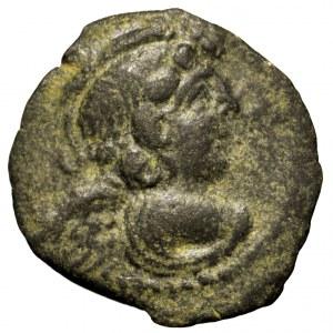 Królestwo Seleukidów, Kyzikenos, Antiochos IX, brąz 114-96 p.n.e.