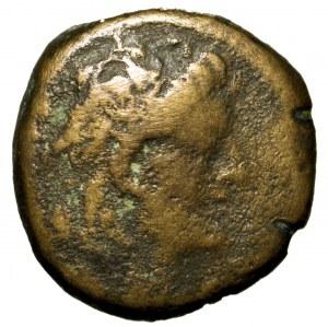 Syria, Seleucja, Aleksander II Zebinas, brąz 128-123 p.n.e.