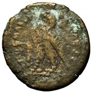 Egipt, Ptolemeusz II Filodelfos, brąz 284-246 p.n.e.