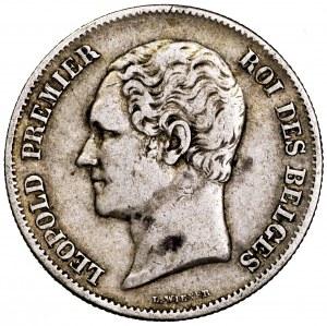 Belgia, Leopold I, 2,5 franka 1849 - rzadsze