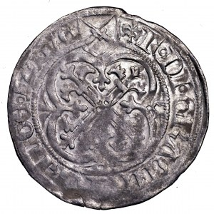 Niemcy, Fryderyk II, grosz miśnieński 1428-1464, Lipsk