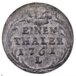 August III Sas, 1/24 talara 1761 L, Lipsk