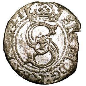 Zygmunt III Waza, szeląg 1607, Ryga