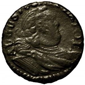 August III Sas, szeląg 1754 H