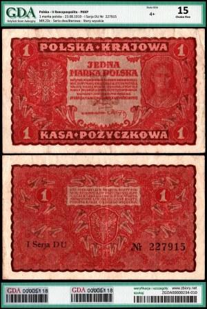II Rzeczpospolita, 1 marka polska 23.08.1919 - GDA ChF15