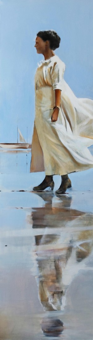 Jan Norbert Dubrowin (ur.1957), Wielki błękit, 2021