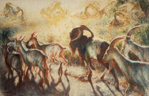 Piotr Naliwajko (ur.1960), Raj, których malowałem, 2020