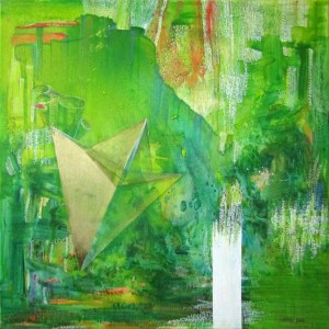 Joanna Banek ( ur.1967), Zieleńz cyklu Botanica, 2020