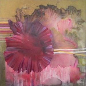 Joanna Banek ( ur.1967), Purpura z cyklu Botanica, 2019