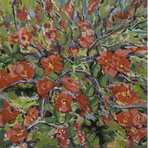 Gabriela Paluch, Kwitnący krzew, 2020