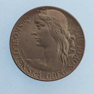 Sokol / AR medaile Na paměť XI. všesokolského sletu 1948 v Praze