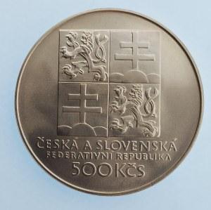 Období 1945-1990 / 500 Kčs Tenis, Ag,