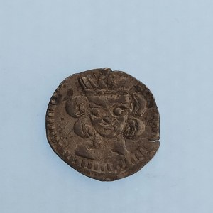 Václav III. [1301 - 1305] / Denár Husz.437, 0.44 g, Ag,