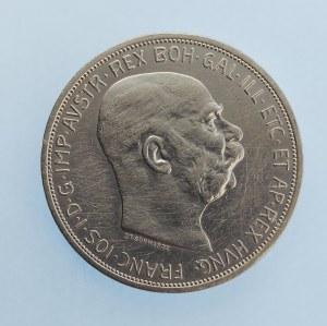 Korunová měna [1892 - 1918] / 5 Koruna 1909 Schwarz, Ag,
