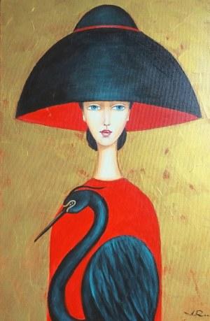 Alicja Ressa, Czarna czapla,