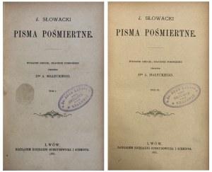 SŁOWACKI - PISMA - ŁADNA OPRAWA