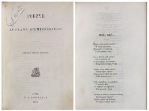 SIEMIEŃSKI – POEZYE LIPSK 1863