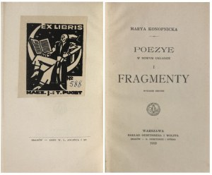 KONOPNICKA – FRAGMENTY EX LIBRIS PUGETA