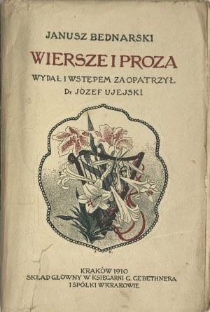 BEDNARSKI - WIERSZE I PROZA