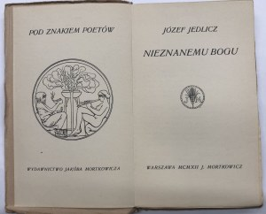 JEDLICZ - NIEZNANEMU BOGU 1912