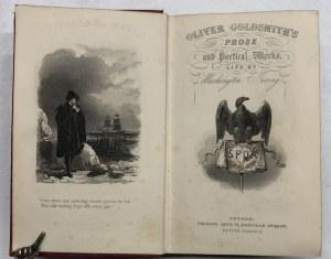 UTWORY POETYCKIE OLIVERA GOLDSMITHA 1850