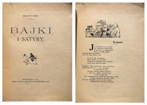 HERTZ - BAJKI I SATYRY 1911