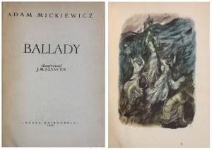 MICKIEWICZ - BALLADY ILUSTR. SZANCER WYD. I
