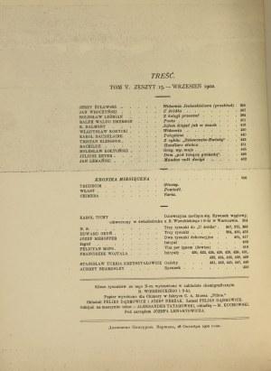 CHIMERA rok 1902 tom V – OKUŃ