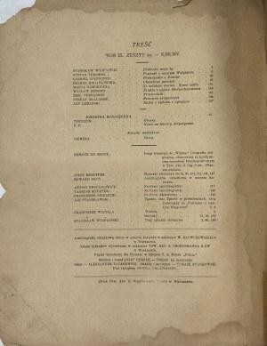 CHIMERA ROK 1905 WYSPIAŃSKI, STANISŁAWSKI