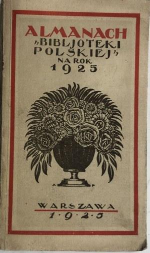 ALMANACH 1925 (SKOCZYLAS, WYSPIAŃSKI)
