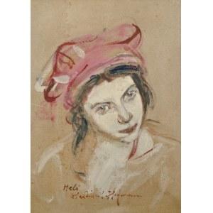 Wlastimil Hofman (1881-1970), Portret Heleny (1924)