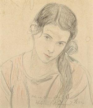 Wlastimil Hofman (1881-1970), Portret Heleny Fliszewskiej (1922)