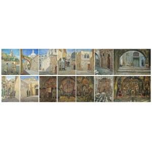 Wlastimil Hofman (1881-1970), Droga krzyżowa – cykl 14 prac (1942)